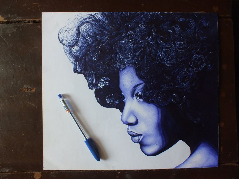 AFRICA HAS GOT TALENT |Ball Pen Painting