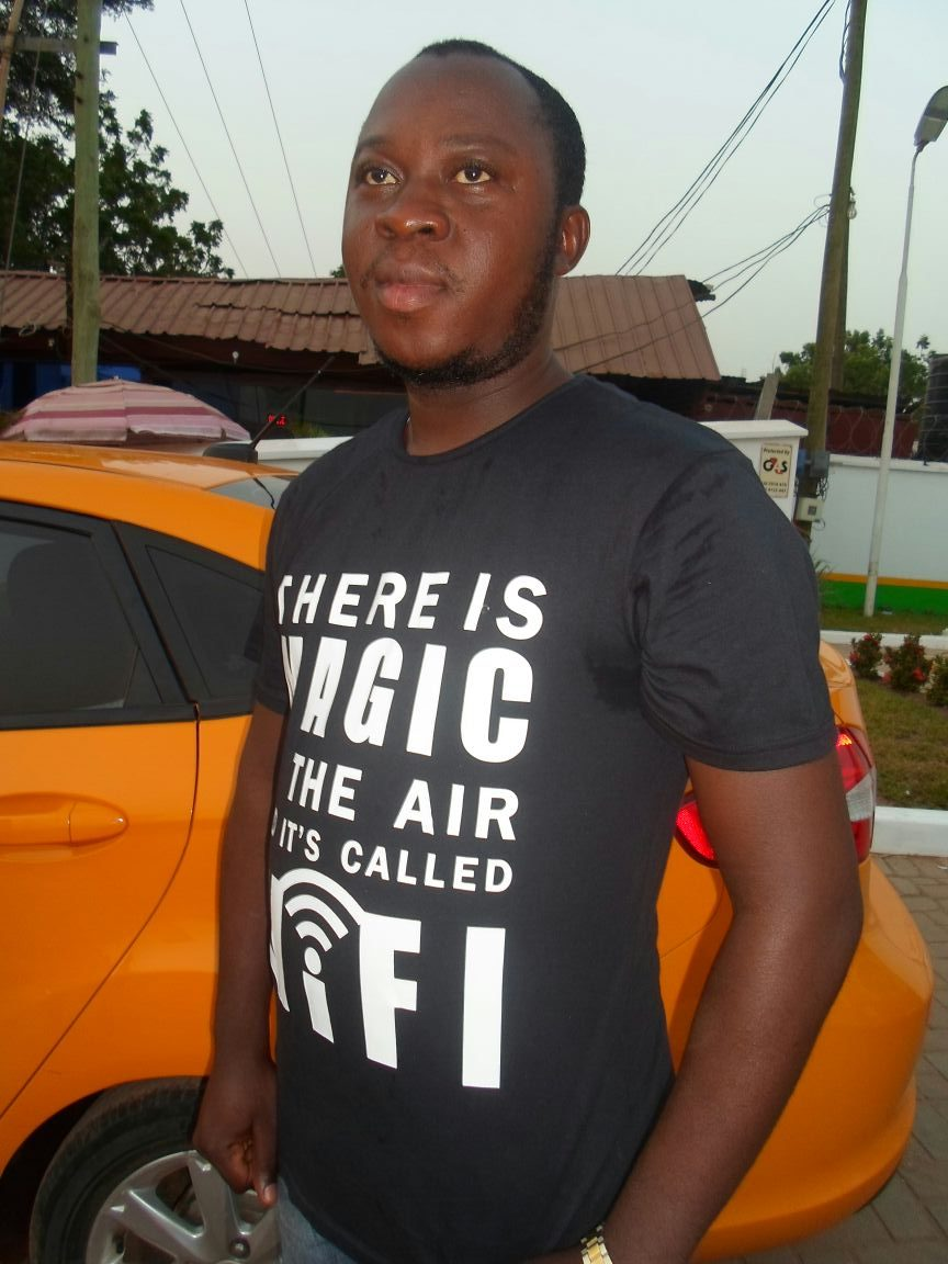 AFRICA HAS GOT TALENT | Victor Adepoju and the taxi that gives you free WiFi