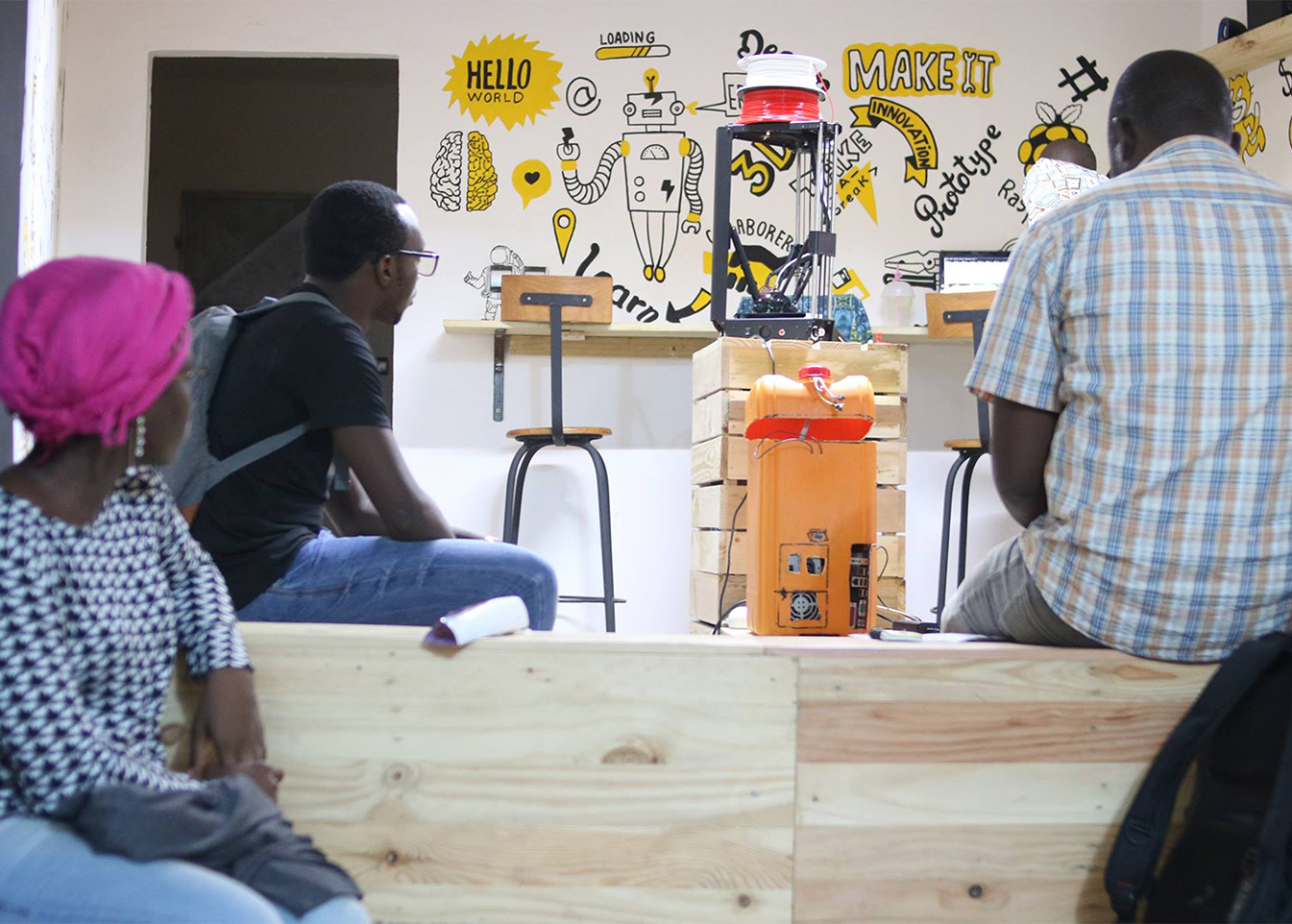 IROKO FABLAB: promoting digital and knowledge creations