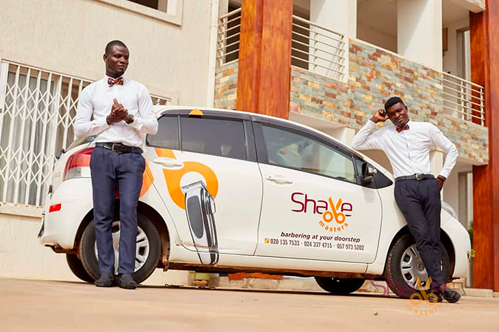 Shave Masters: The Ghanaian Mobile Grooming Service