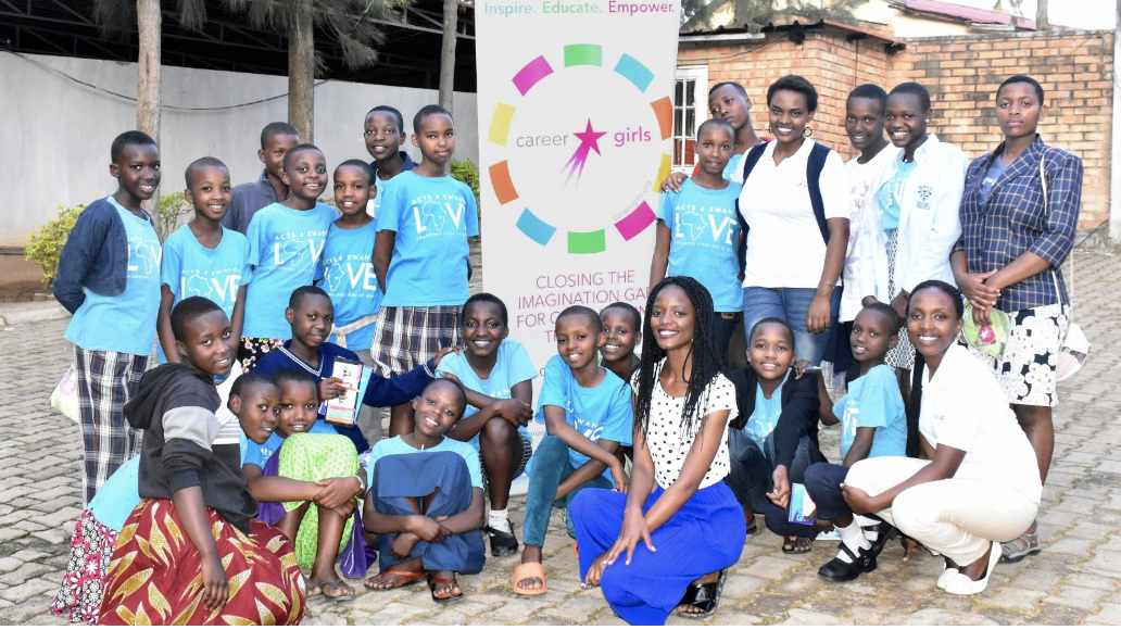 CAREER GIRLS  partners with STARLIGHT AFRICA to bring it's first stem career exploration program to girls in Rwanda